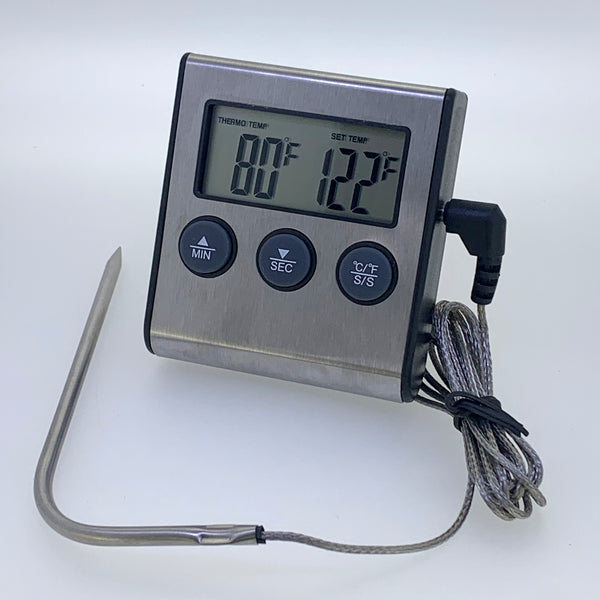 Remote Probe Digital Thermometer / Timer