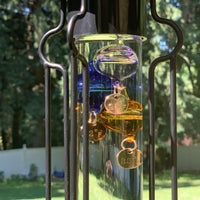 "Outdoor Hanging Galileo Thermometer (23"" Total Height) W/ Free Bracket"