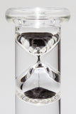 "3 Minute Floating Glass Sand Timer (10"" Tall)"