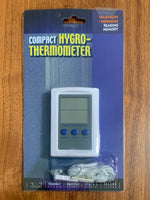 Digital Hygrometer w/ Dual Zone Remote Probe Thermometer