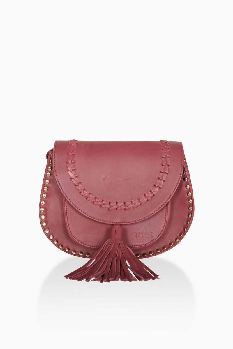 DétaiL shoulder bag 10203405179 - Wine Red