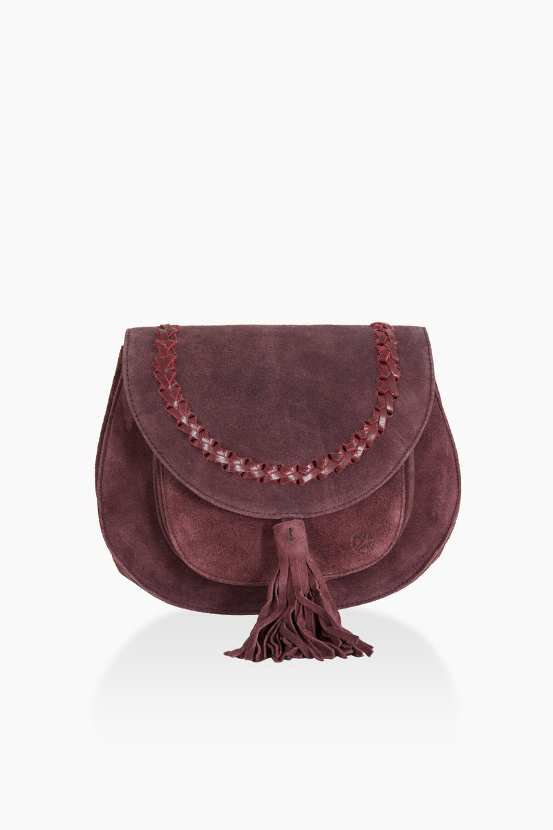 DétaiL shoulder bag 10203405210 - aubergine