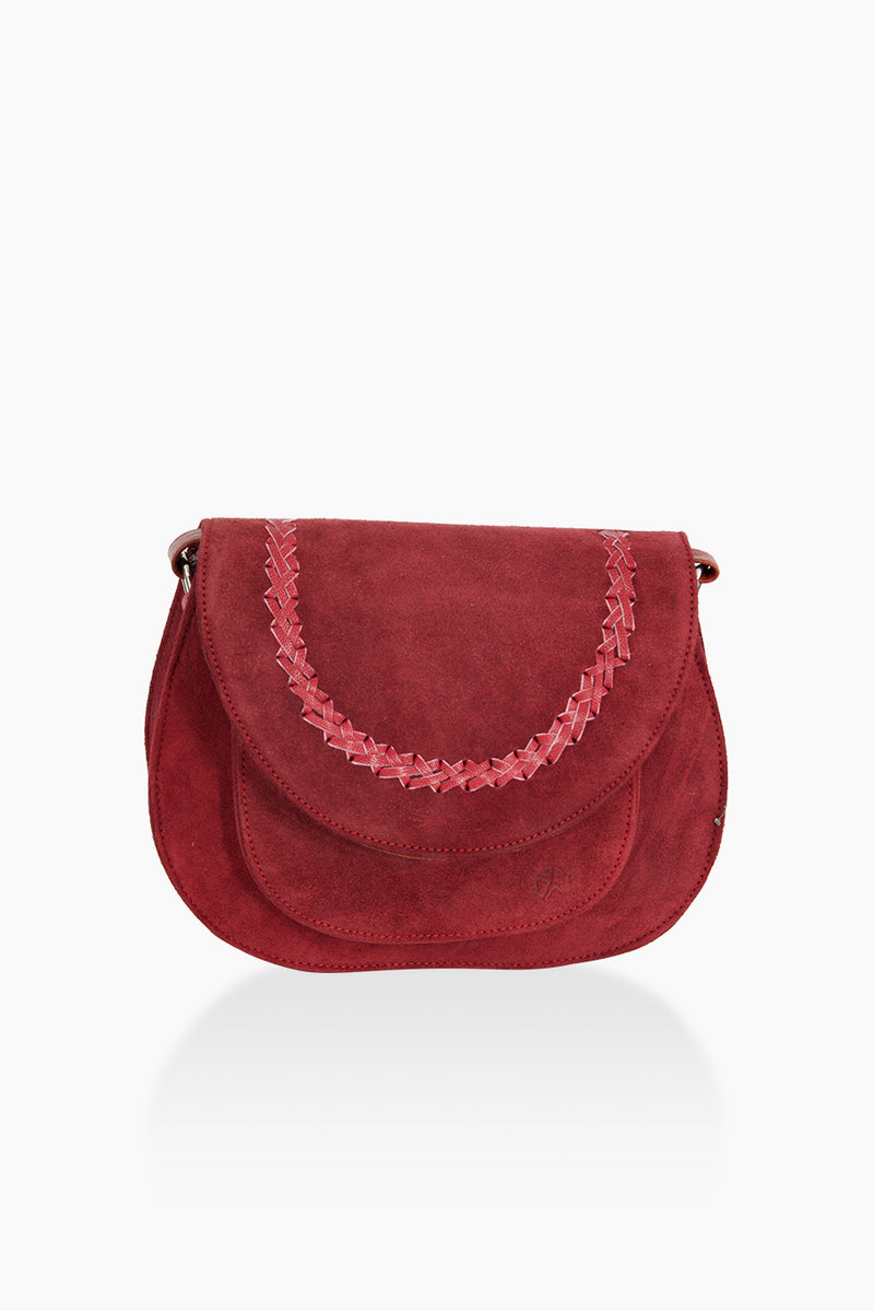 DétaiL shoulder bag 10203405442 - cherry red