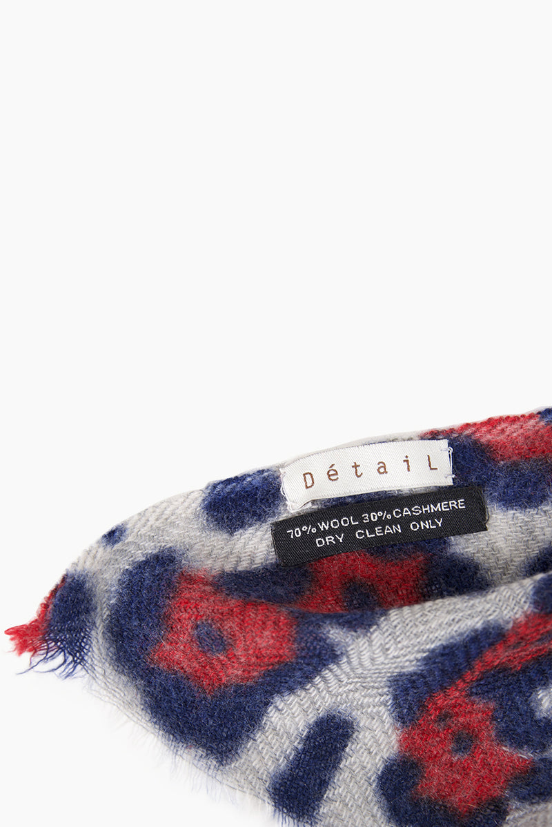 DétaiL scarf 10203406725 - Red