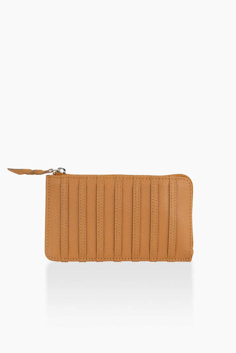 A DétaiL wallet 10203408563 - Caramel/Stripes