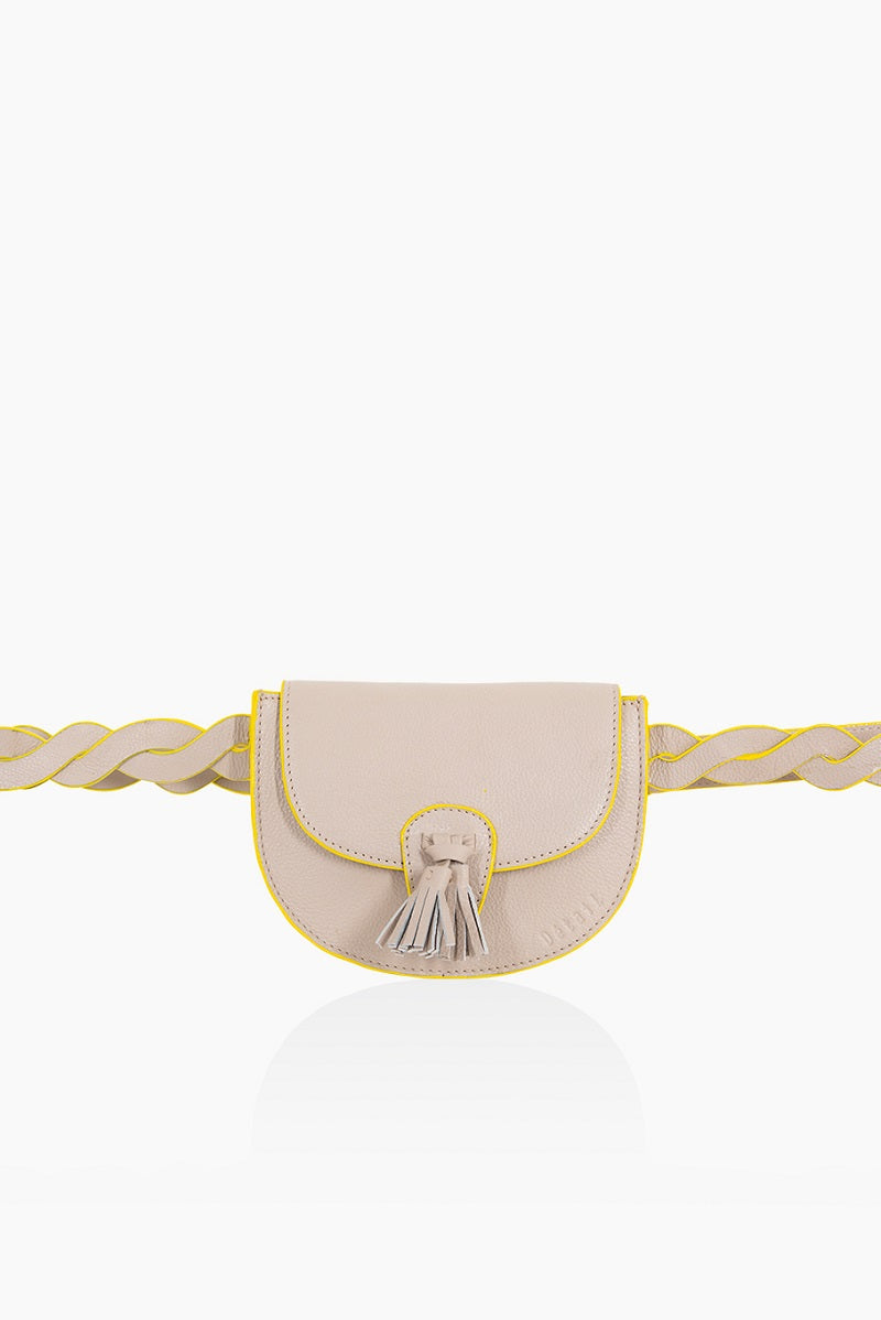 A DétaiL crossbody Victory 10203408610 - Light Taupe Fluo
