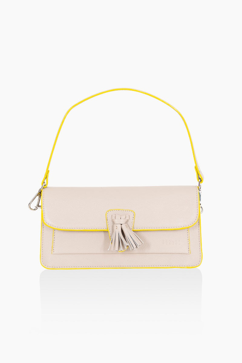 A DétaiL shoulder bag 10203408629 - Light Taupe Fluo