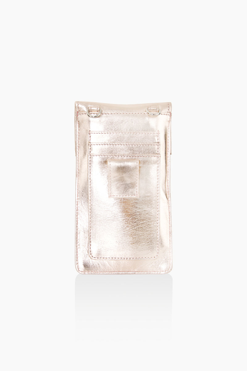 A DétaiL mobile phone bag 10203408641 - Rose Gold/Metallic