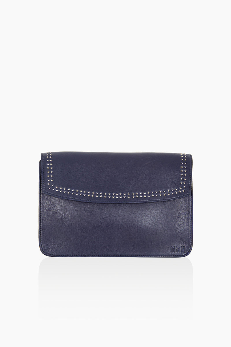 DétaiL shoulder bag 10203406331 - blue/silver/leopard