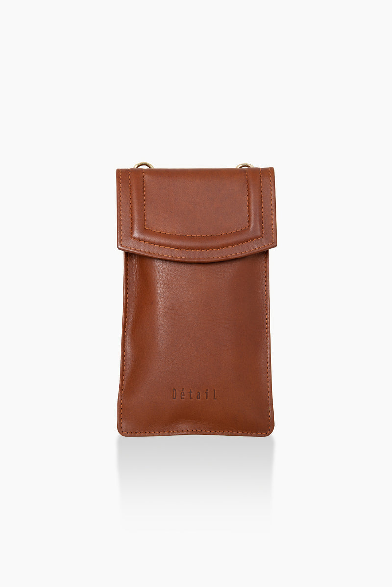 DétaiL mobile phone bag 10203407933 - Cognac