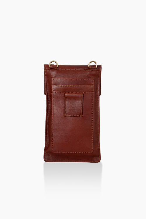 DétaiL mobile phone bag 10203407932 - Chestnut