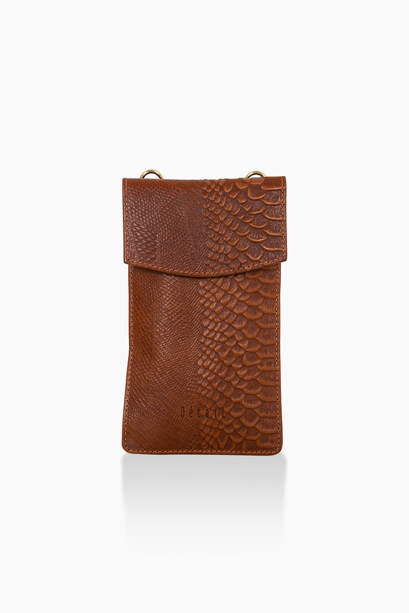 DétaiL mobile phone bag 10203407828 - Cognac