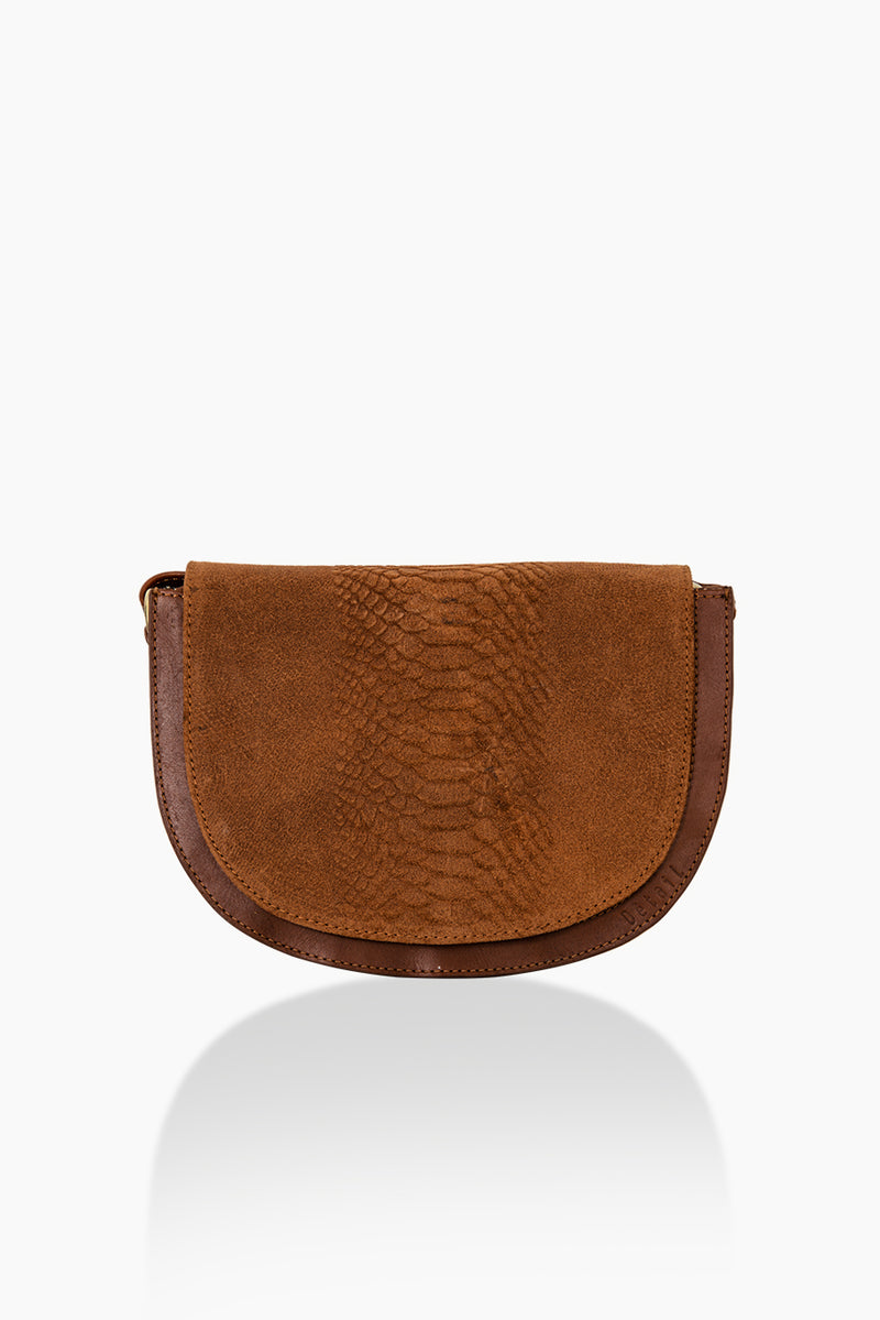 DétaiL shoulder bag 10203407835 - Cognac
