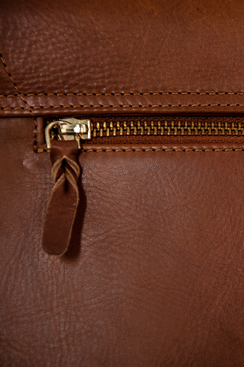 DétaiL shoulder bag 10203407926 - Cognac