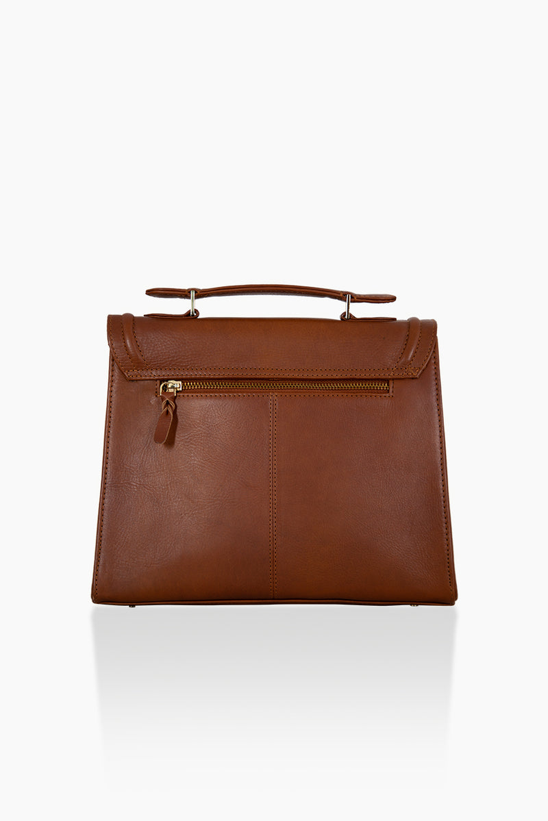 DétaiL shoulder bag 10203407858 - Cognac