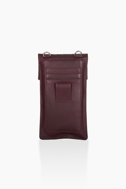 DétaiL mobile phone bag 10203407831 - Aubergine