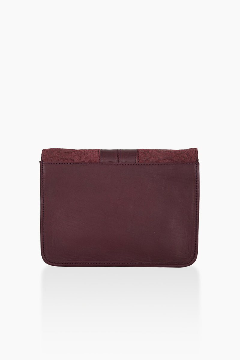 DétaiL shoulder bag 10203407810 - Aubergine