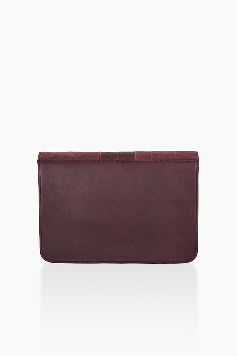 DétaiL shoulder bag 10203407817 - Aubergine