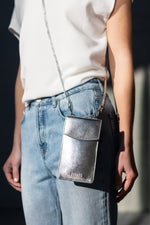 A DétaiL mobile phone bag 10203408639 - Silver/Metallic