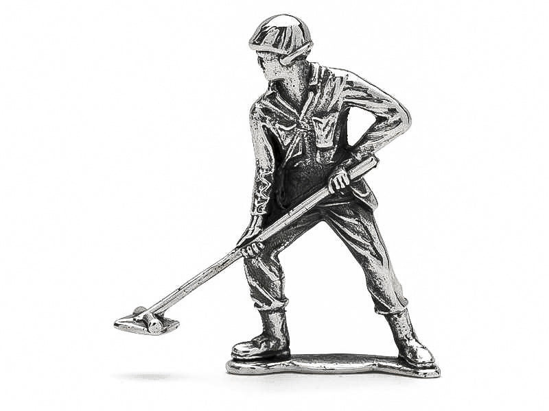 Classic Mine Sweeper Silver Army Man