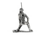 Skull Face Radio Silver Army Man