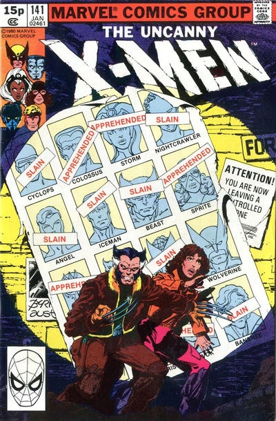 Uncanny X-Men 141 Marvel DC Comic Book