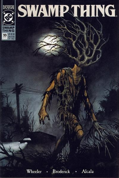 Swamp Thing 99 Marvel DC Comic Book