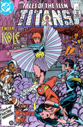 Tales Of The Teen Titans 68 Marvel DC Comic Book