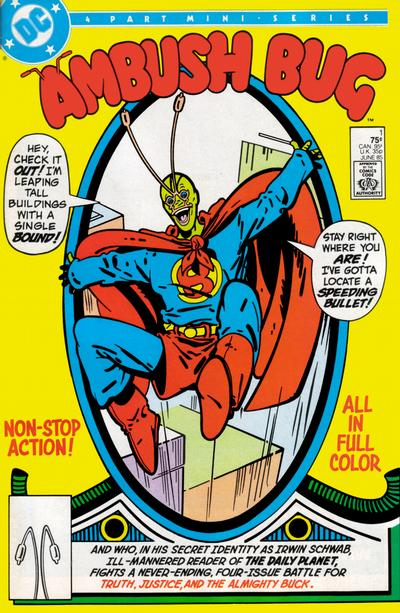 Ambush Bug 1 Marvel DC Comic Book
