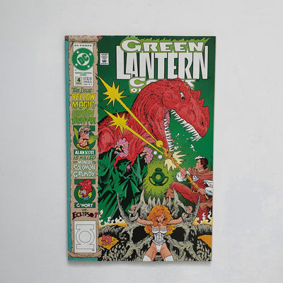 The Green Lantern Corps Quarterly 4 Marvel DC Comic Book