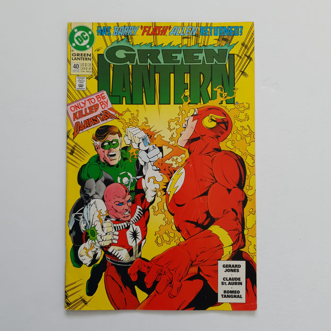 Green Lantern 40 Marvel DC Comic Book