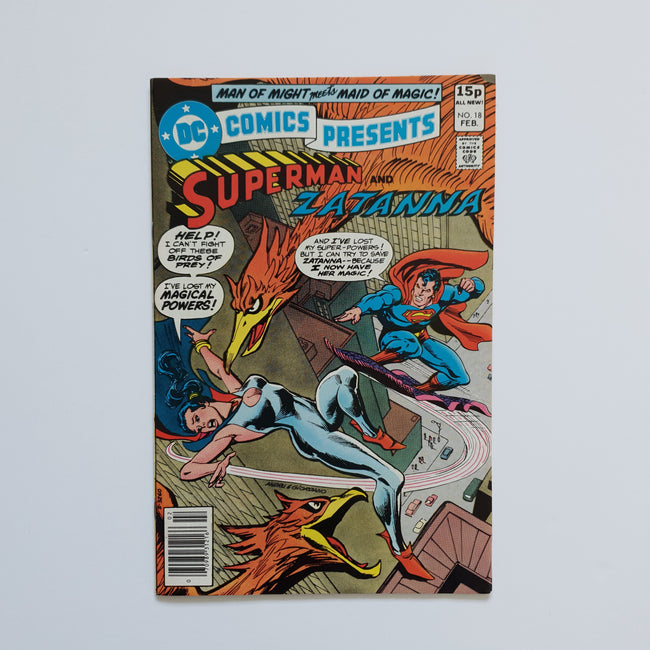 DC Comics Presents 18 Marvel DC Comic Book