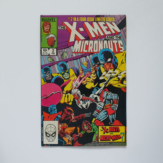 The X-Men And The Micronaughts 2 Marvel DC Comic Book