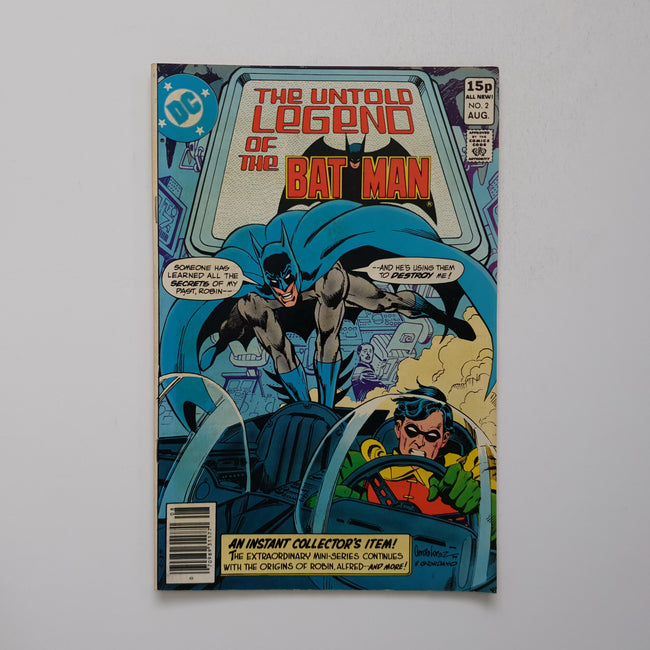 The Untold Legend Of The Batman 2 Marvel DC Comic Book