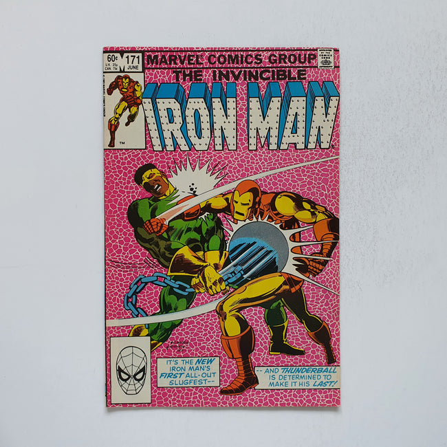 The Invincible Iron Man 171 Marvel DC Comic Book
