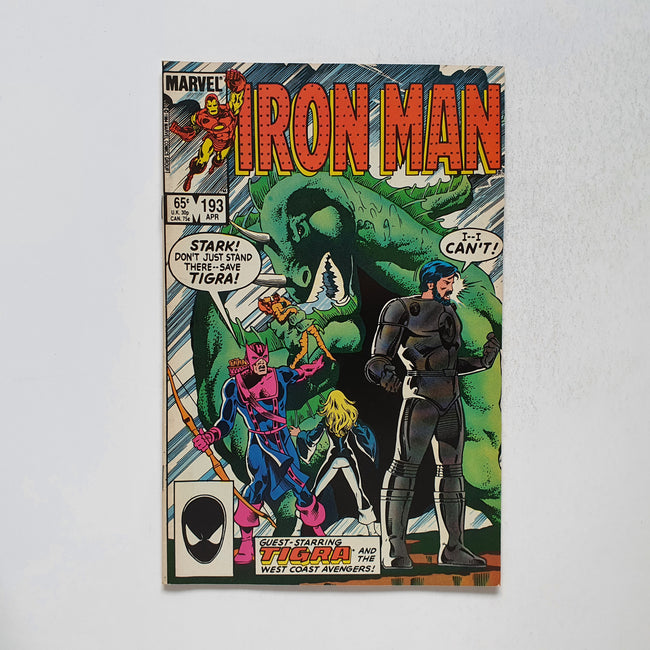 The Invincible Iron Man 193 Marvel DC Comic Book
