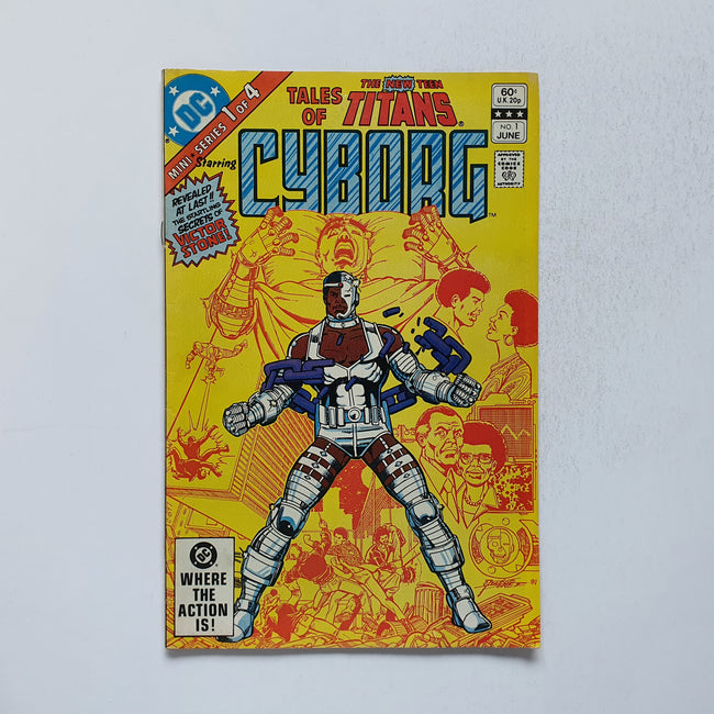 Tales Of The Teen Titans Cyborg 1 Marvel DC Comic Book