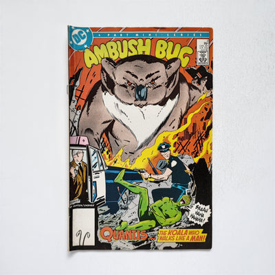 Ambush Bug 2 Marvel DC Comic Book