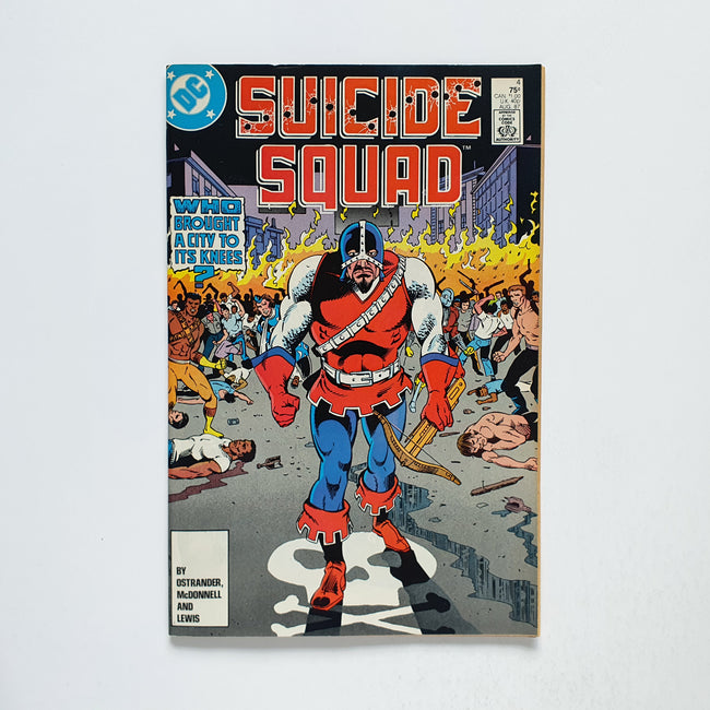 Suicide Squad 4 Marvel DC Comic Book