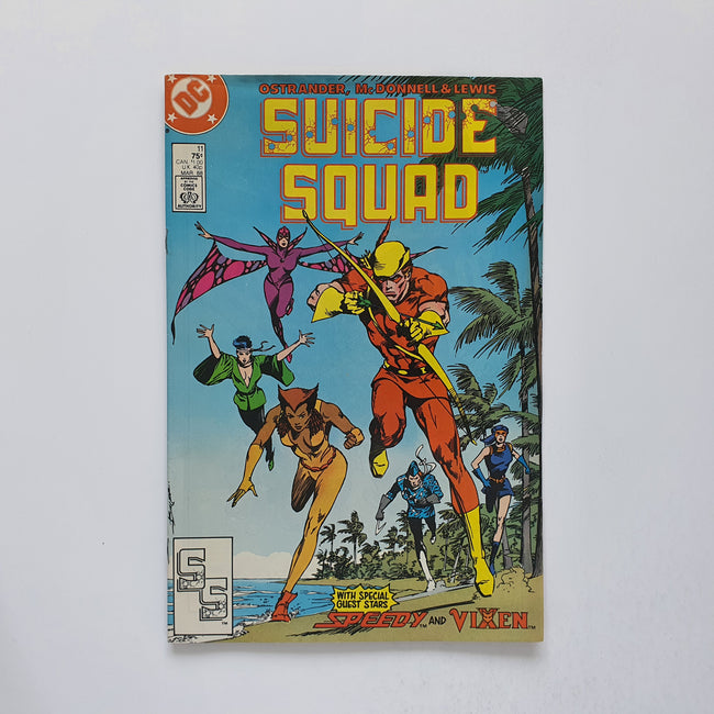Suicide Squad 11 Marvel DC Comic Book