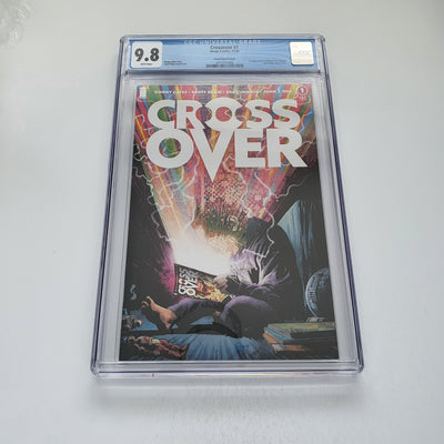 Crossover 1 Secret Variant CGC 9.8 Marvel DC Comic Book