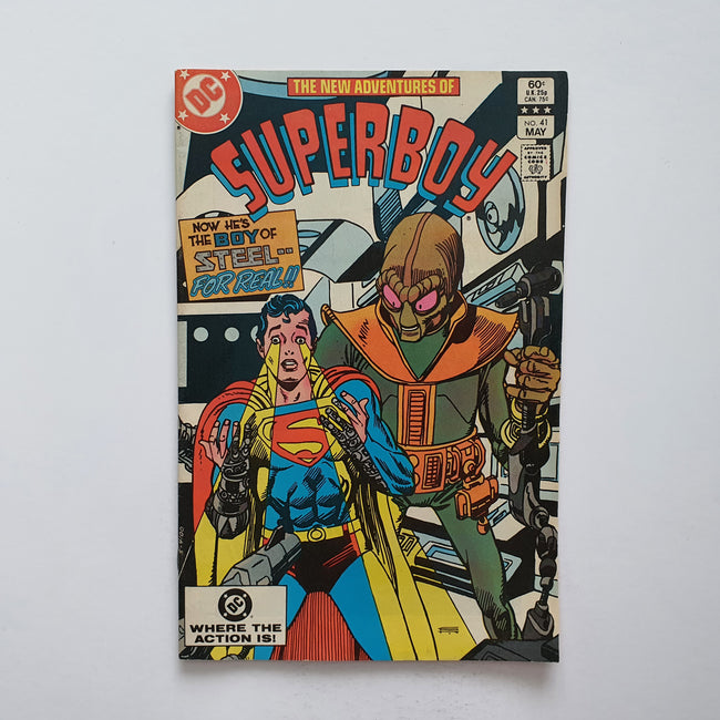 The New Adventures Of Superboy 41 Marvel DC Comic Book