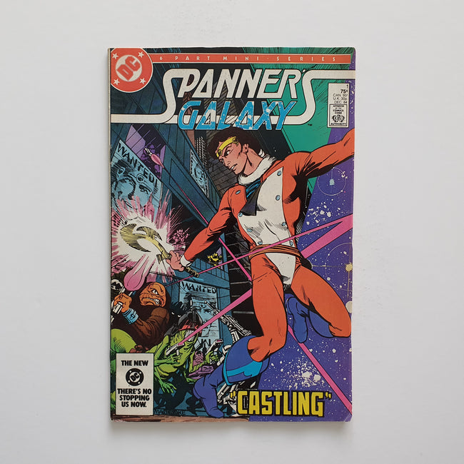Spanners Galaxy 1 Marvel DC Comic Book