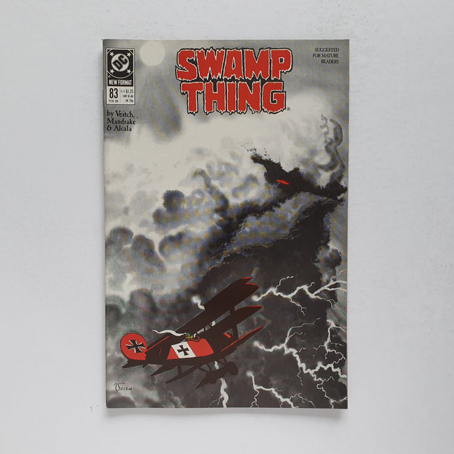 Swamp Thing 83 Marvel DC Comic Book