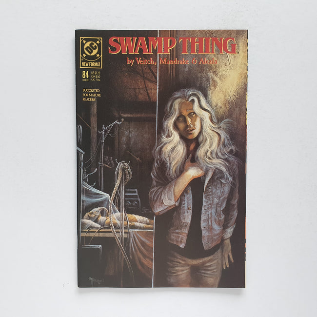 Swamp Thing 84 Marvel DC Comic Book