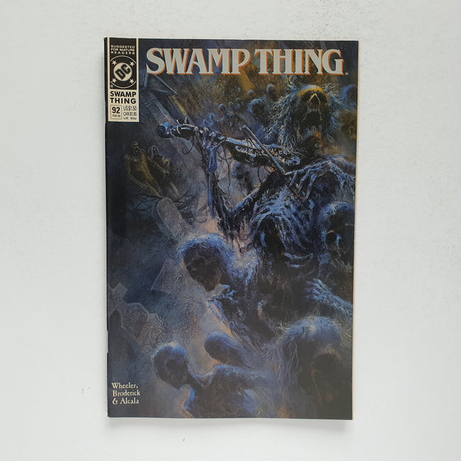 Swamp Thing 92 Marvel DC Comic Book