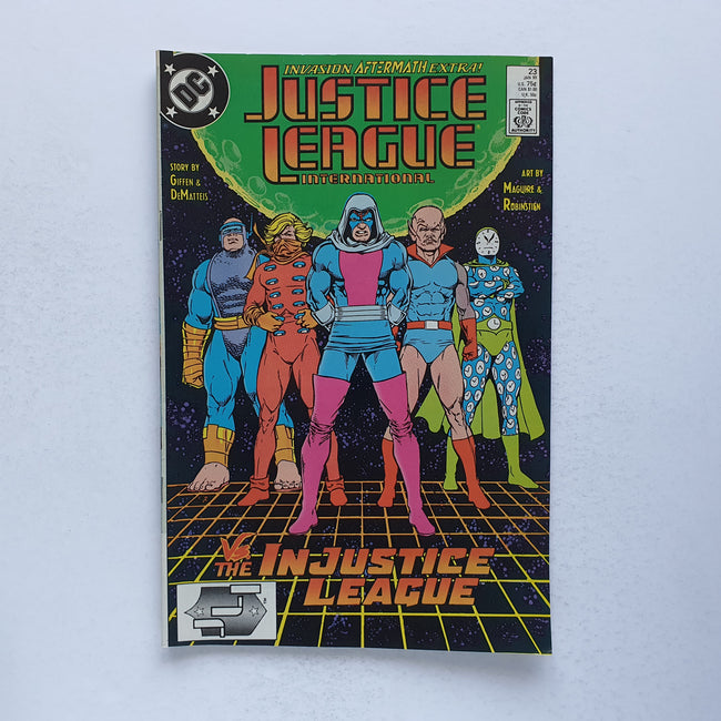Justice League International 23