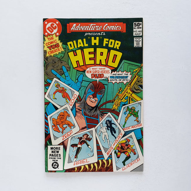 "Adventure Comics 483 ""Presents Dial H for Hero"""
