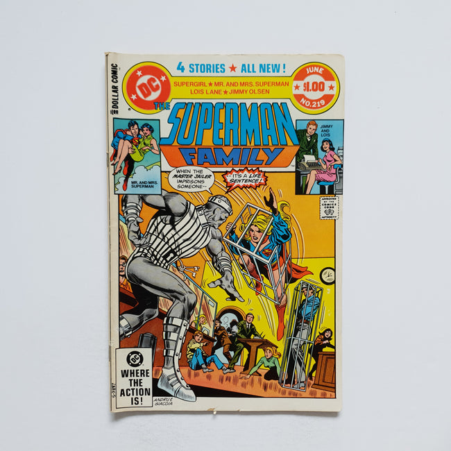 The Superman Family 219 Marvel DC Comic Book