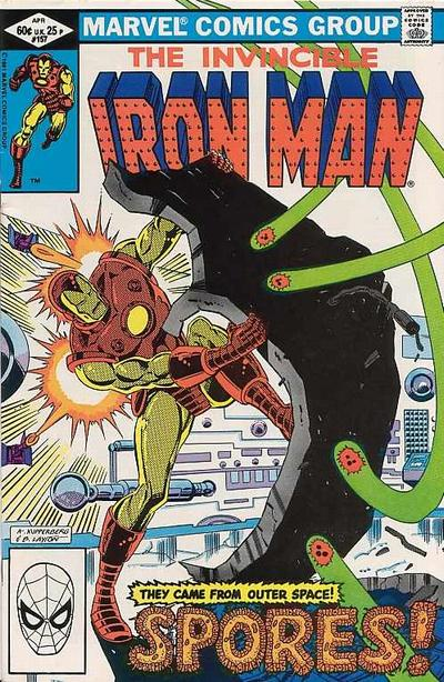 The Invincible Iron Man 157 Marvel DC Comic Book